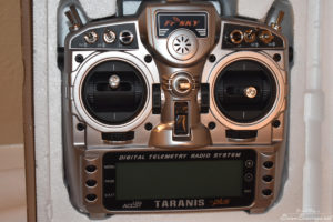 Taranis X9D+ front view