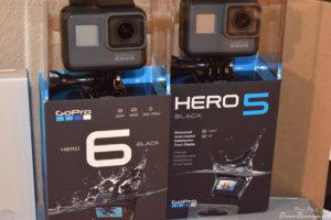 GoPro Hero 5 and 6 black