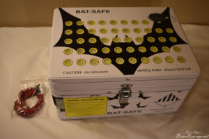 Bat-Safe fire containment box