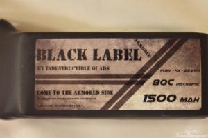 "Indestructible Quads ""Black Label"" 4S True 80C Racing"