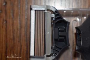Closeup of blade