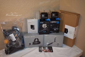 GoPro and all the stuff