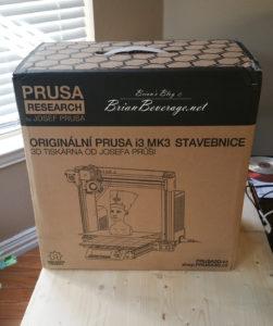Prusa i3 MK3 Kit.